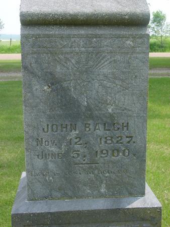 BALCH, JOHN - Ida County, Iowa | JOHN BALCH