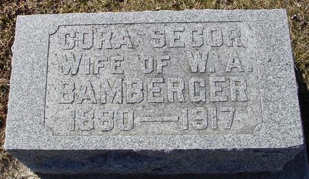 SECOR BAMBERGER, CORA - Ida County, Iowa | CORA SECOR BAMBERGER