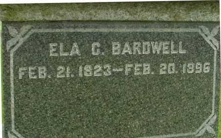 BARDWELL, ELA C. - Ida County, Iowa | ELA C. BARDWELL