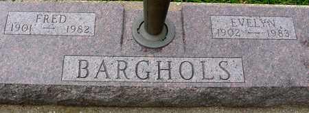 BARGHOLS, FRED & EVELYN - Ida County, Iowa | FRED & EVELYN BARGHOLS