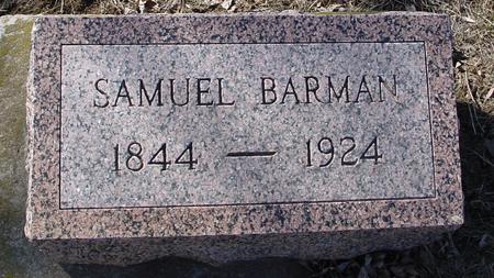 BARMAN, SAMUEL - Ida County, Iowa | SAMUEL BARMAN