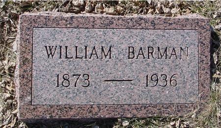 BARMAN, WILLIAM - Ida County, Iowa | WILLIAM BARMAN