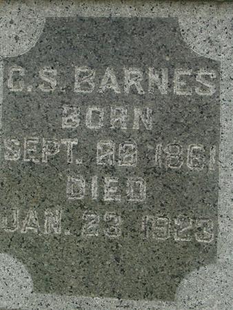 BARNES, CHARLES - Ida County, Iowa   CHARLES BARNES