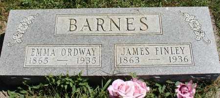 ORDWAY BARNES, EMMA - Ida County, Iowa | EMMA ORDWAY BARNES
