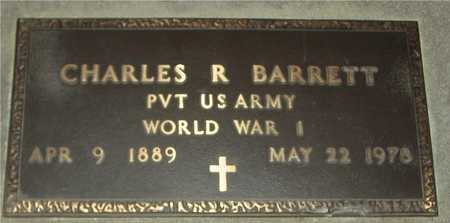 BARRETT, CHARLES R. - Ida County, Iowa   CHARLES R. BARRETT