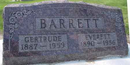 BARRETT, EVERETT & GERTRUDE - Ida County, Iowa | EVERETT & GERTRUDE BARRETT