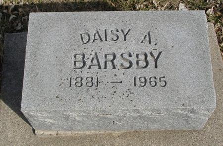 BARSBY, DAISY A. - Ida County, Iowa   DAISY A. BARSBY