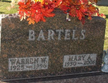 BARTELS, MARY A. - Ida County, Iowa | MARY A. BARTELS