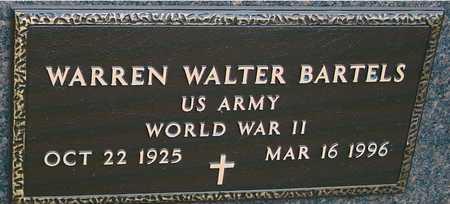 BARTELS, WARREN WALTER - Ida County, Iowa | WARREN WALTER BARTELS