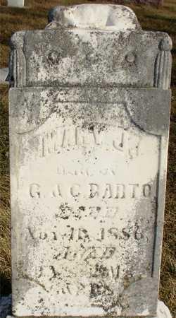 BARTO, MARY J. - Ida County, Iowa | MARY J. BARTO