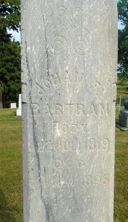 BARTRAM, JOHAN F. - Ida County, Iowa | JOHAN F. BARTRAM