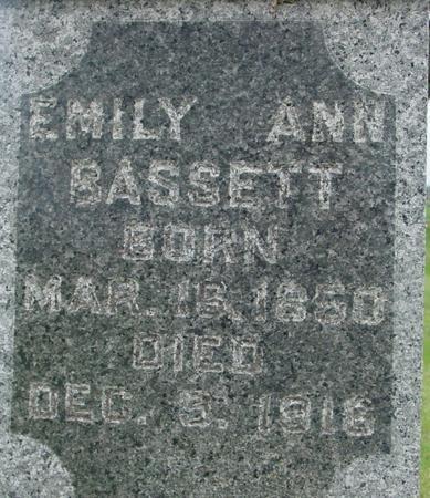 BASSETT, EMILY ANN - Ida County, Iowa | EMILY ANN BASSETT