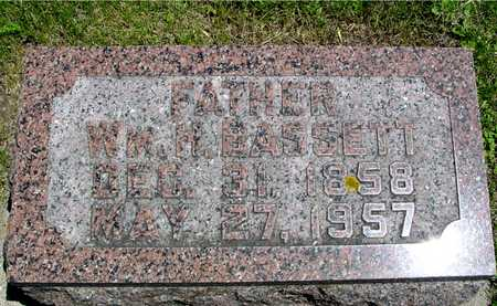 BASSETT, WILLIAM H. - Ida County, Iowa   WILLIAM H. BASSETT