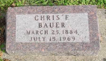 BAUER, CHRIS F. - Ida County, Iowa | CHRIS F. BAUER