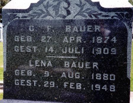 BAUER, CHARLES F. - Ida County, Iowa | CHARLES F. BAUER
