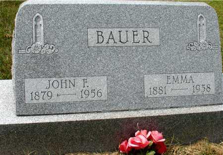 BAUER, JOHN F. & EMMA - Ida County, Iowa | JOHN F. & EMMA BAUER