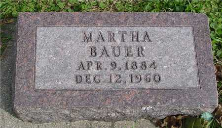 BAUER, MARTHA - Ida County, Iowa | MARTHA BAUER