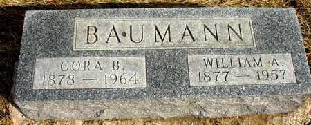 BAUMANN, WILLIAM & CORA - Ida County, Iowa   WILLIAM & CORA BAUMANN