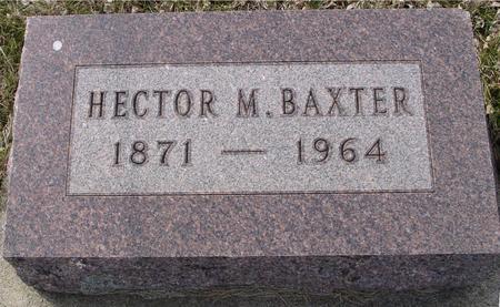 BAXTER, HECTOR M. - Ida County, Iowa | HECTOR M. BAXTER