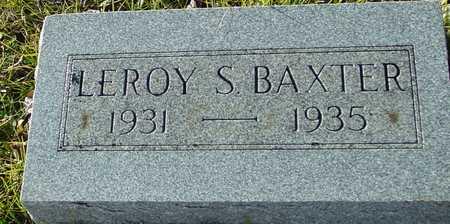 BAXTER, LEROY S. - Ida County, Iowa | LEROY S. BAXTER