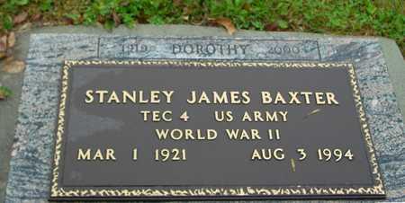 BAXTER, STANLEY JAMES - Ida County, Iowa | STANLEY JAMES BAXTER