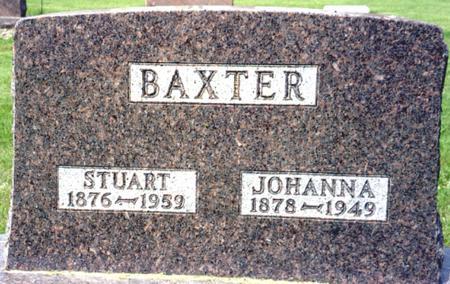 BAXTER, STUART - Ida County, Iowa   STUART BAXTER