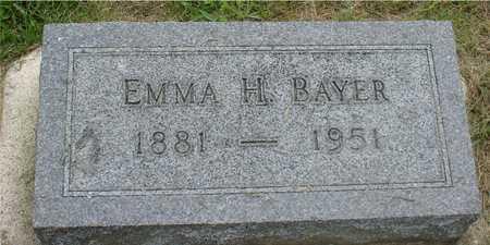 BAYER, EMMA H. - Ida County, Iowa   EMMA H. BAYER