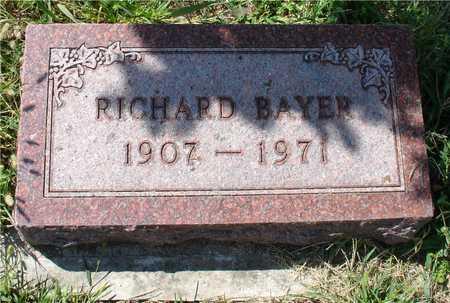 BAYER, RICHARD - Ida County, Iowa   RICHARD BAYER