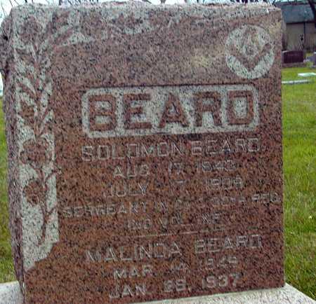 BEARD, SOLOMON & MALINDA - Ida County, Iowa   SOLOMON & MALINDA BEARD