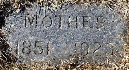 BECKWITH, MOTHER - Ida County, Iowa | MOTHER BECKWITH