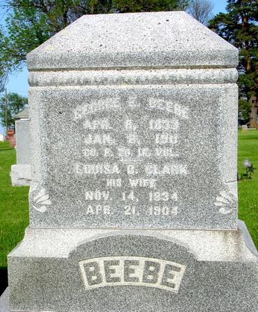 BEEBE, GEORGE - Ida County, Iowa | GEORGE BEEBE