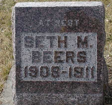BEERS, SETH M. - Ida County, Iowa | SETH M. BEERS