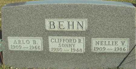 BEHN, ARLO & NELLIE - Ida County, Iowa   ARLO & NELLIE BEHN