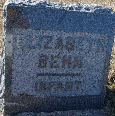 BEHN, ELIZABETH - Ida County, Iowa   ELIZABETH BEHN