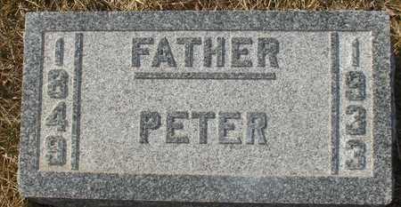 BEHN, PETER - Ida County, Iowa | PETER BEHN