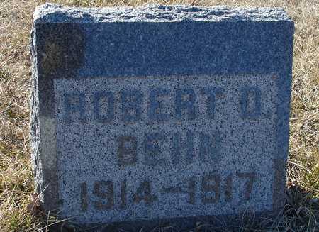 BEHN, ROBERT D. - Ida County, Iowa | ROBERT D. BEHN