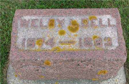 BELL, WELBY - Ida County, Iowa | WELBY BELL