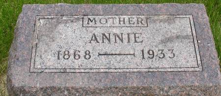 BELSTENE, ANNIE - Ida County, Iowa | ANNIE BELSTENE