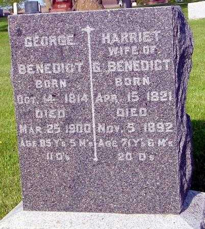 BENEDICT, GEORGE - Ida County, Iowa   GEORGE BENEDICT