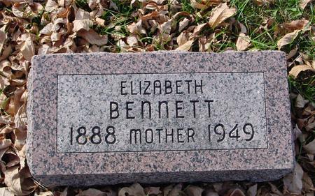 BENNETT, ELIZABETH - Ida County, Iowa   ELIZABETH BENNETT