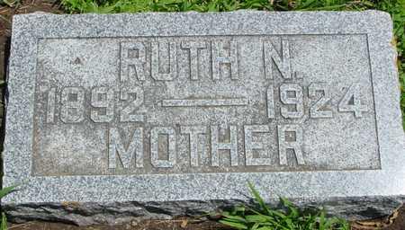 BENNETT, RUTH NAOMI - Ida County, Iowa | RUTH NAOMI BENNETT