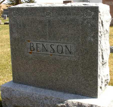 BENSON, FAMILY MARKER - Ida County, Iowa | FAMILY MARKER BENSON