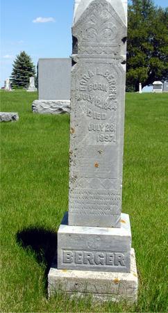 PETERSEN BERGER, DORA - Ida County, Iowa | DORA PETERSEN BERGER
