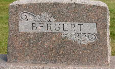 BERGERT, FAMILY MARKER - Ida County, Iowa | FAMILY MARKER BERGERT