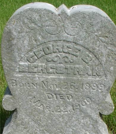 BERGSTRAN, GEORGE BETHUEL - Ida County, Iowa   GEORGE BETHUEL BERGSTRAN