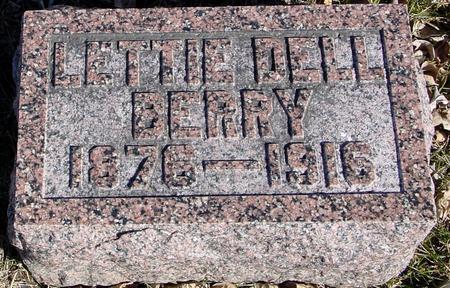 BERRY, LETTIE DELL - Ida County, Iowa | LETTIE DELL BERRY