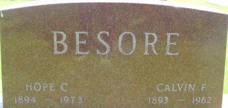 BESORE, CALVIN - Ida County, Iowa | CALVIN BESORE