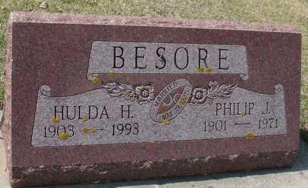BESORE, PHILIP & HULDA - Ida County, Iowa | PHILIP & HULDA BESORE