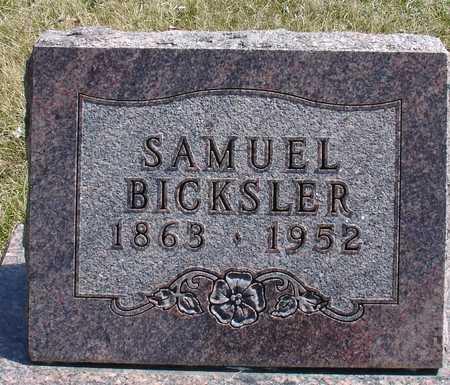 BICKSLER, SAMUEL - Ida County, Iowa   SAMUEL BICKSLER