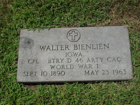 BIENLIEN, WALTER - Ida County, Iowa   WALTER BIENLIEN